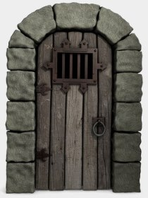 Photo: A Dungeon Door